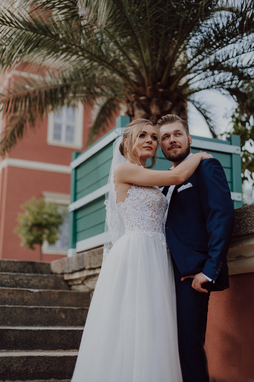 Poślubna sesja w Parku Murzakowskim
